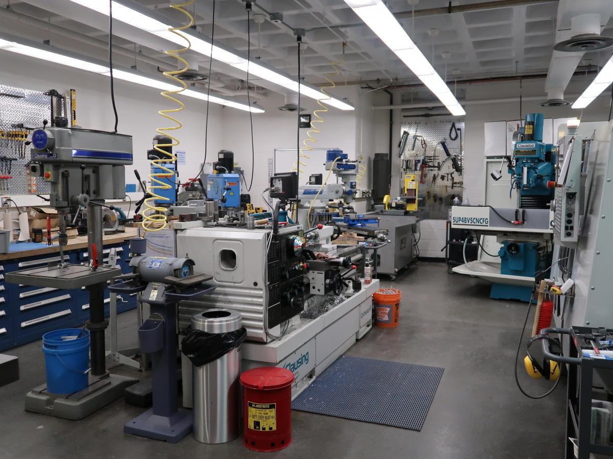 Carleton Lab Machine Shop