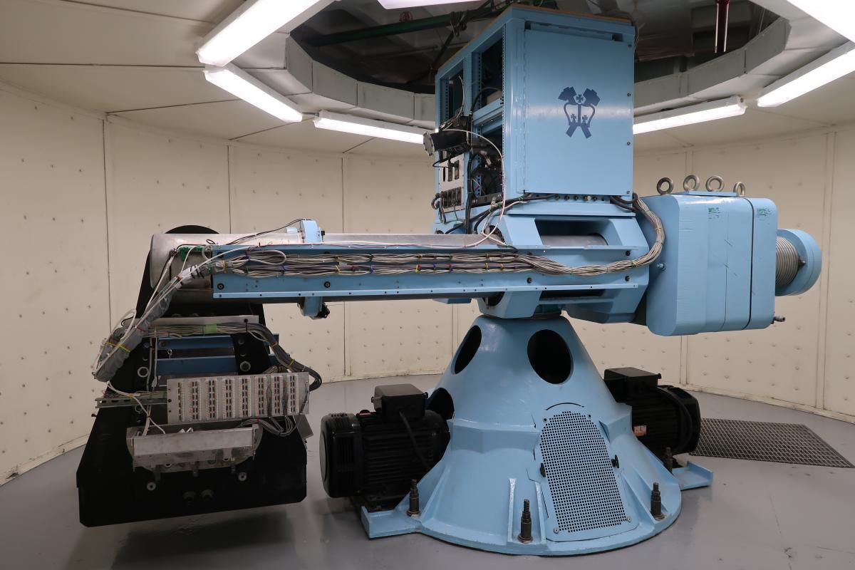 geotechnical centrifuge at Carleton Laboratory