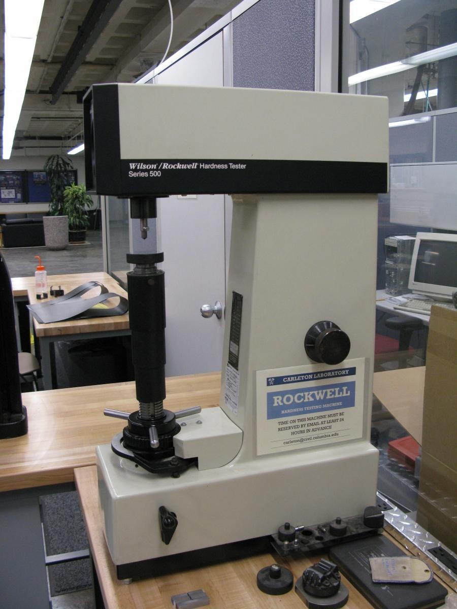 rockwell testing machine